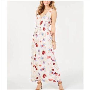 LUCKY Brand | Flower Tank Maxi Boho Hippie Dress M